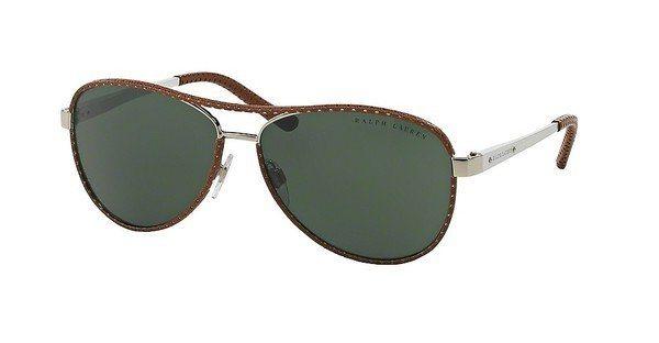 Ralph Lauren Damen Sonnenbrille » RL7050Q« in 929871 - braun/grün