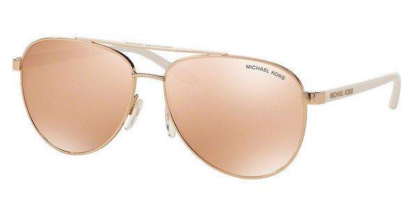 Michael Kors Damen Sonnenbrille »HVAR MK5007« in 1080R1 - rosa/ gold