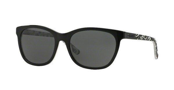 DKNY Damen Sonnenbrille » DY4115« in 358287 - schwarz/grau