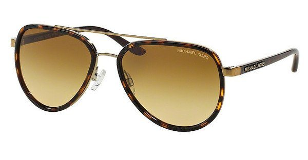 Michael Kors Damen Sonnenbrille »PLAYA NORTE MK5006« in 10342L - braun/braun