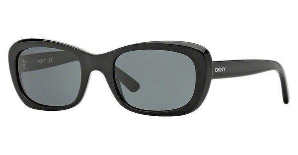 DKNY Damen Sonnenbrille » DY4118« in 300187 - schwarz/grau