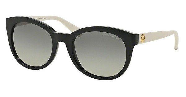 Michael Kors Damen Sonnenbrille »CHAMPAGNE BEACH MK6019« in 305211 - schwarz/grau