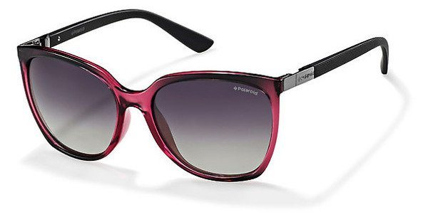 Polaroid Damen Sonnenbrille » P8440« in IY1/IX - rot/grau
