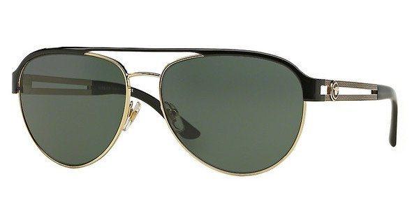 Versace Damen Sonnenbrille » VE2165« in 136671 - gold/ grün