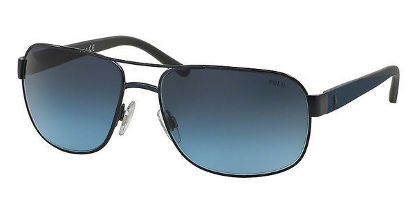 Polo Herren Sonnenbrille » PH3093« in 91198F - blau/blau