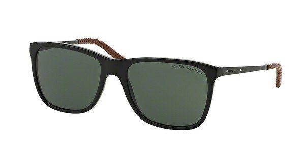 Ralph Lauren Herren Sonnenbrille » RL8133Q« in 500171 - schwarz/grün