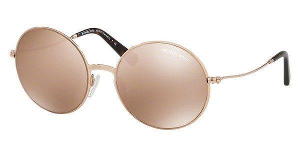 Michael Kors Sonnenbrille Mk5017, UV 400, silbern
