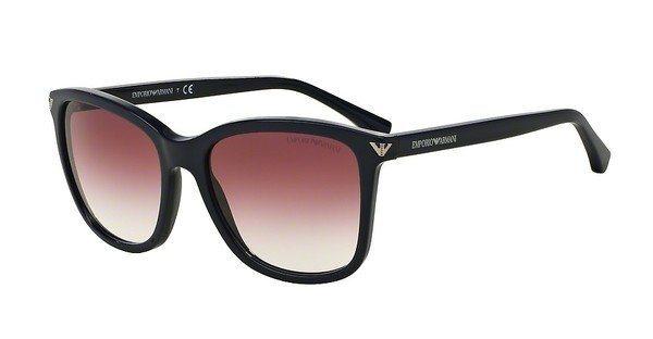 Emporio Armani Damen Sonnenbrille » EA4060« in 54558H - schwarz/rot