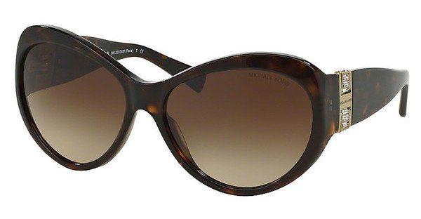 MICHAEL KORS Michael Kors Damen Sonnenbrille »PARIS MK2002MB«, braun, 300613 - braun/braun