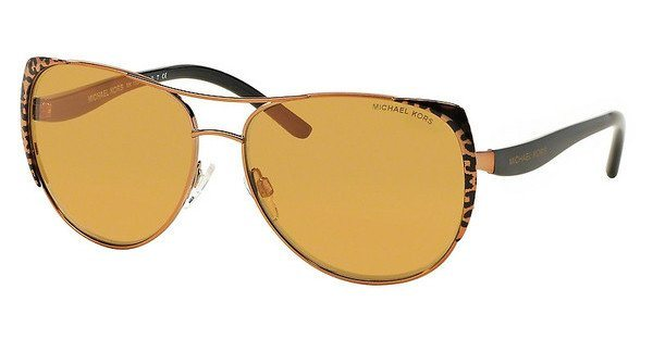 Michael Kors Damen Sonnenbrille »SADIE I MK1005« in 10925N - rosa/orange