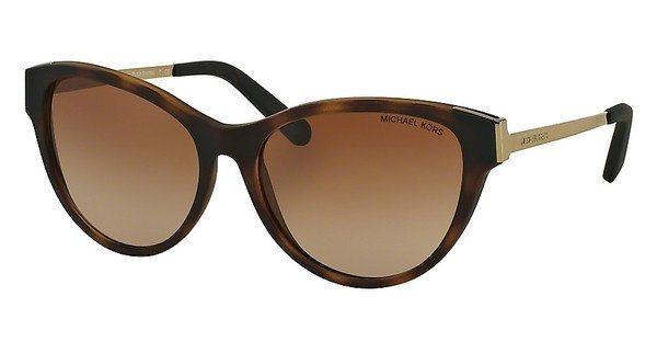 Michael Kors Damen Sonnenbrille »PUNTE ARENAS MK6014« in 302113 - braun/braun