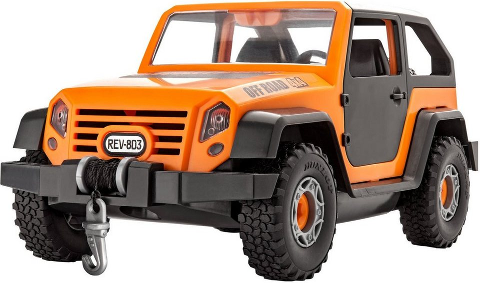 Revell® Modellbausatz Geländewagen, Maßstab 1:20, »Junior Kit Offroad Vehicle« in orange