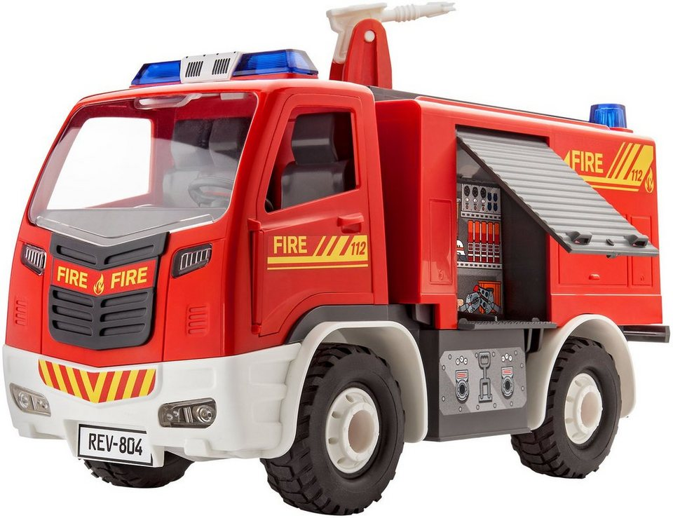 revell modellbausatz feuerwehr ma stab 1 20 junior kit fire truck online kaufen otto. Black Bedroom Furniture Sets. Home Design Ideas