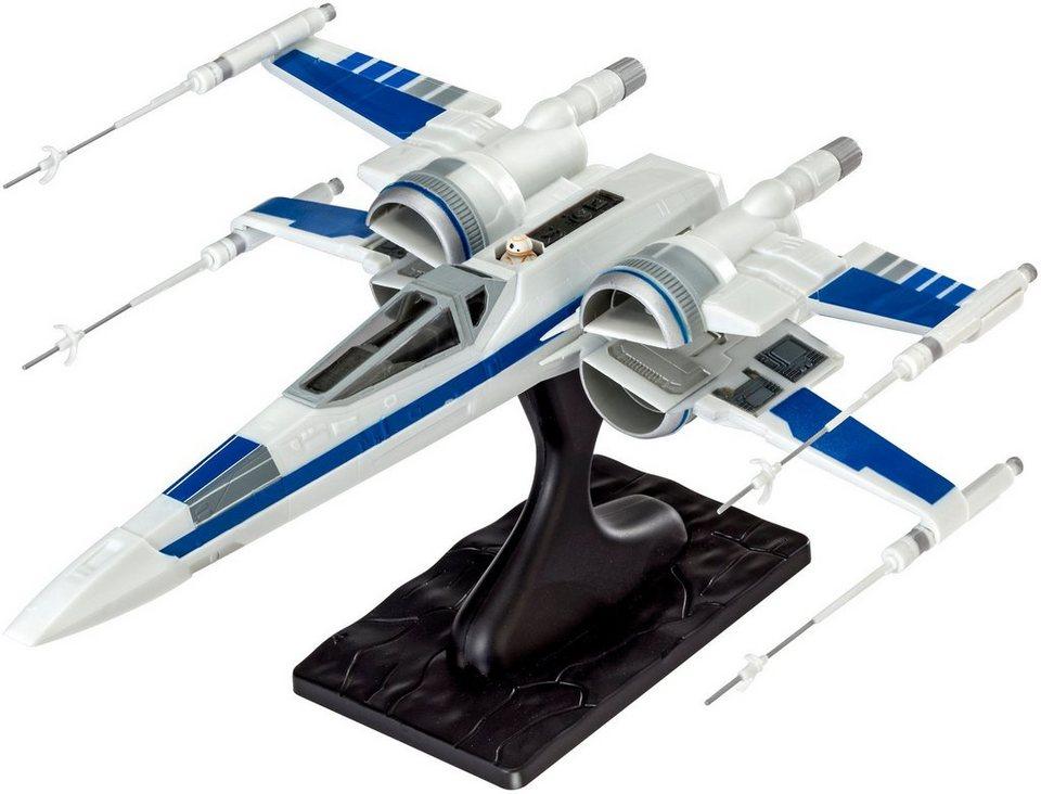 Revell® Modellbausatz Starfighter, Maßstab 1:50, »Disney Star Wars Resistance Xwing Fighter™« in weiß