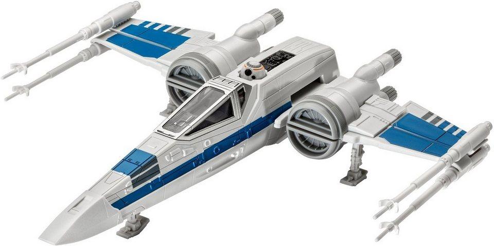 Revell® Modellbausatz Raumgleiter mit Sound, 1:78, »Disney Star Wars Resistance Xwing Fighter™« in weiß
