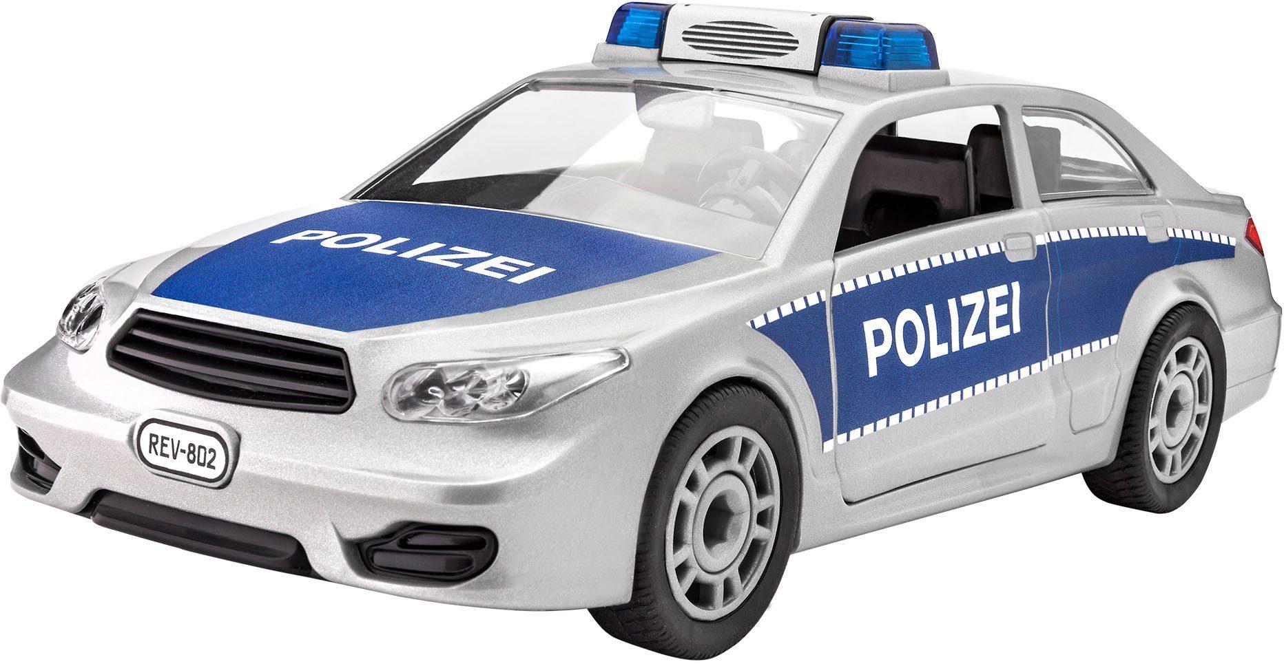 Revell® Modellbausatz Polizeiwagen, Maßstab 1:20, »Junior Kit Police Car«