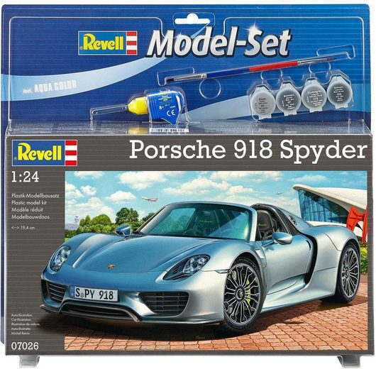Revell® Modellbausatz »Porsche 918 Spyder«, Maßstab 1:24, Made in Europe