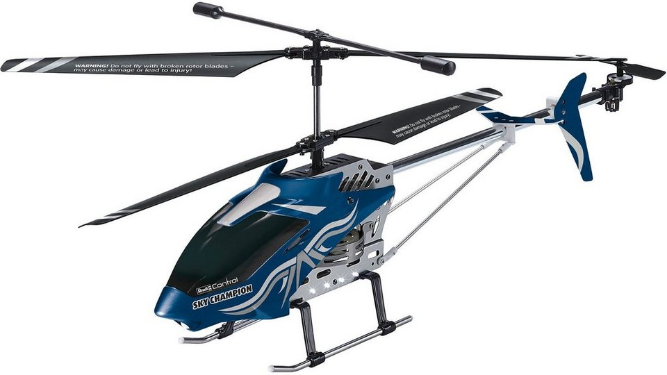 Revell® Control, Großmodell RC Helicopter, »Sky Champion« in blau