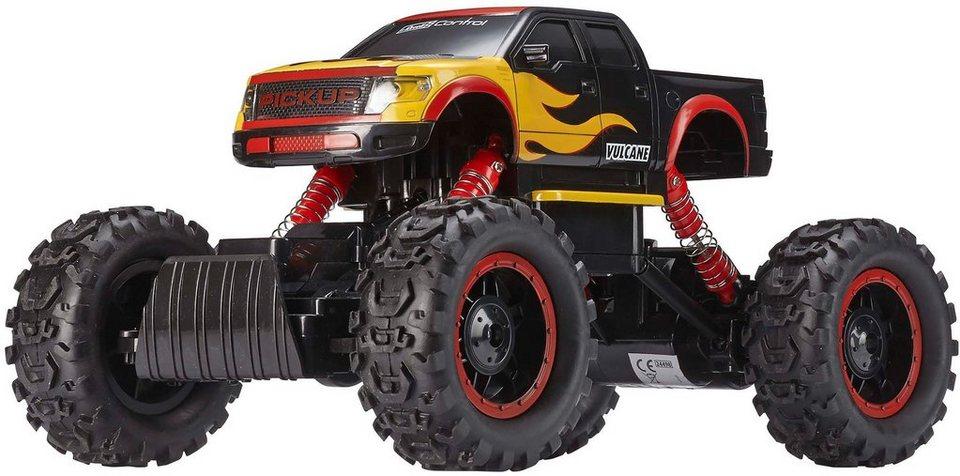 Revell® Control, RC Pickup mit Licht, »Crawler Vulcane« in schwarz