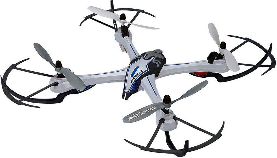Revell® Control, RC-Quadcopter inkl. Ladegerät und Ersatzrotor Set, »Formula Q« in grau