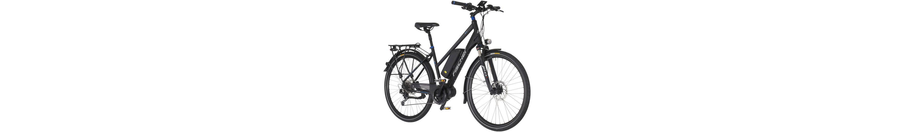 E-Bike Trekking Damen »ETD1607«, 28 Zoll, 9 Gang, Mittelmotor, 504 Wh