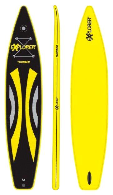 SUP-Board »Thunder«, BxL: 71 x 380 cm in gelb