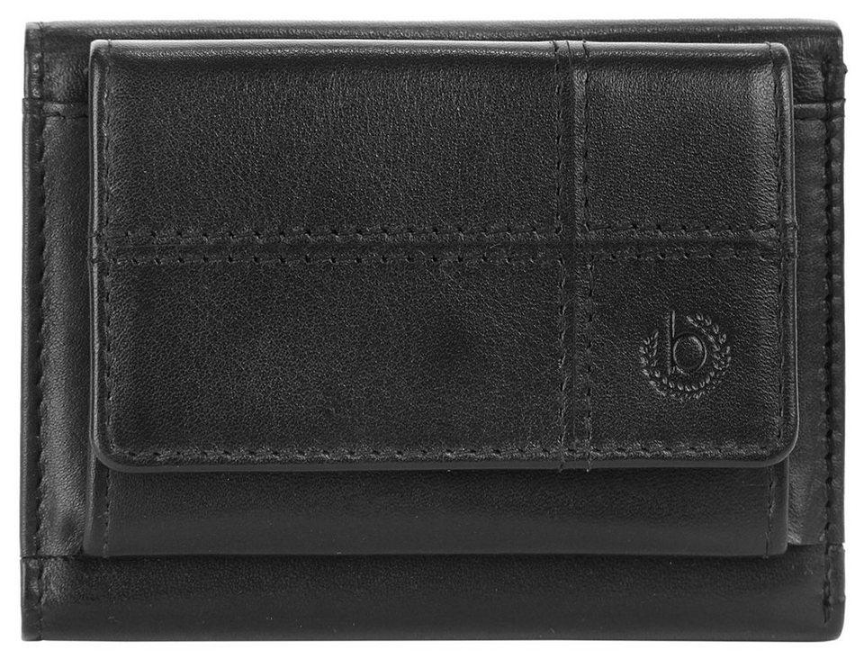 Bugatti Leder Mini Geldbörse »Bradford« in schwarz