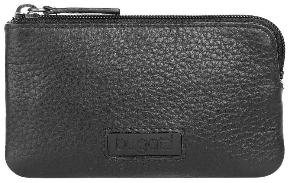 Bugatti Leder Schlüsseletui »Pregio« in schwarz