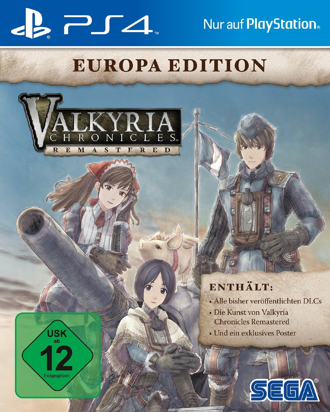 Sega Valkyria Chronicles Remastered - Europa Edition »PS4«