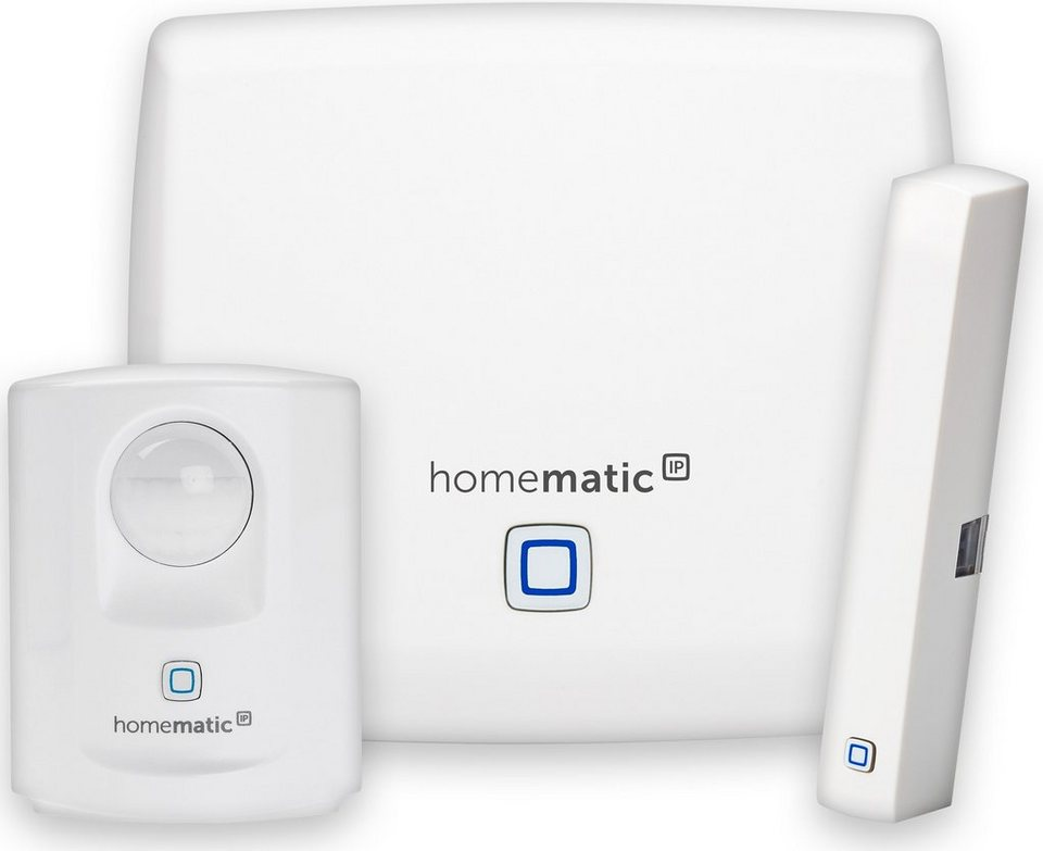Homematic IP - Smart Home - Sicherheit & Komfort »Starter Set Sicherheit« in weiss