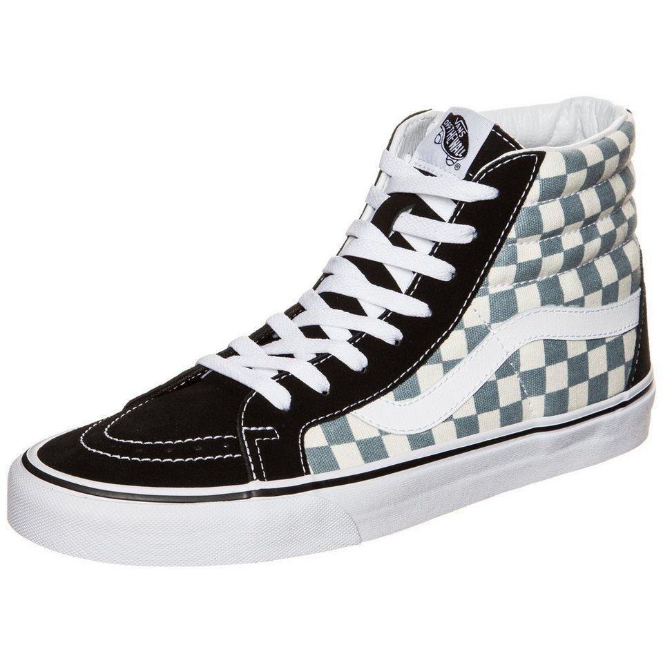 VANS Sk8-Hi Reissue Checkerboard Sneaker Herren in schwarz / grau