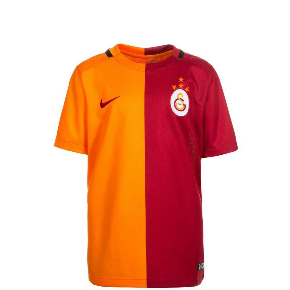 NIKE Galatasaray Istanbul Trikot Home Stadium 2015/2016 Kinder in rot / orange