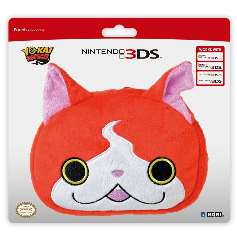 hori nintendo 3ds xl zubeh r yo kai watch pl schtasche. Black Bedroom Furniture Sets. Home Design Ideas