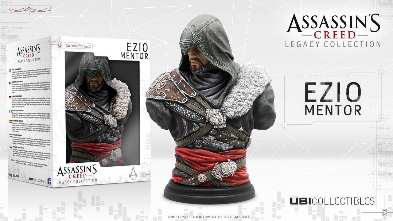 Ubisoft Fanartikel »Assassin's Creed Ezio Mentor Büste«