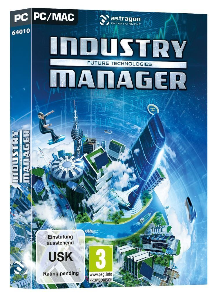 astragon PC - Spiel »Industry Manager: Future Technologies«