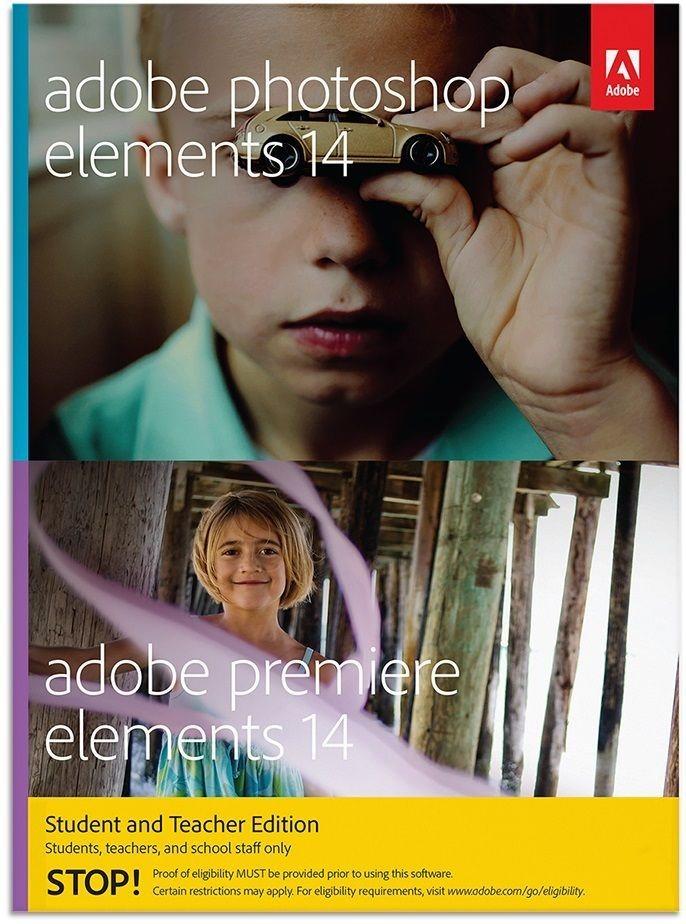 ADOBE Bild- und Videobearbeitung » PHSP&PREM Student/Teacher 14 MLP (1 Benutzer)« in blau