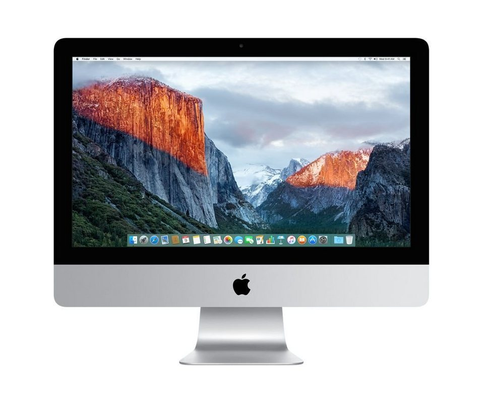 "APPLE iMac CTO - All in One PC »Intel Core i5, 54,6cm (21,5""), 256 GB Flash, 8GB« in silber"