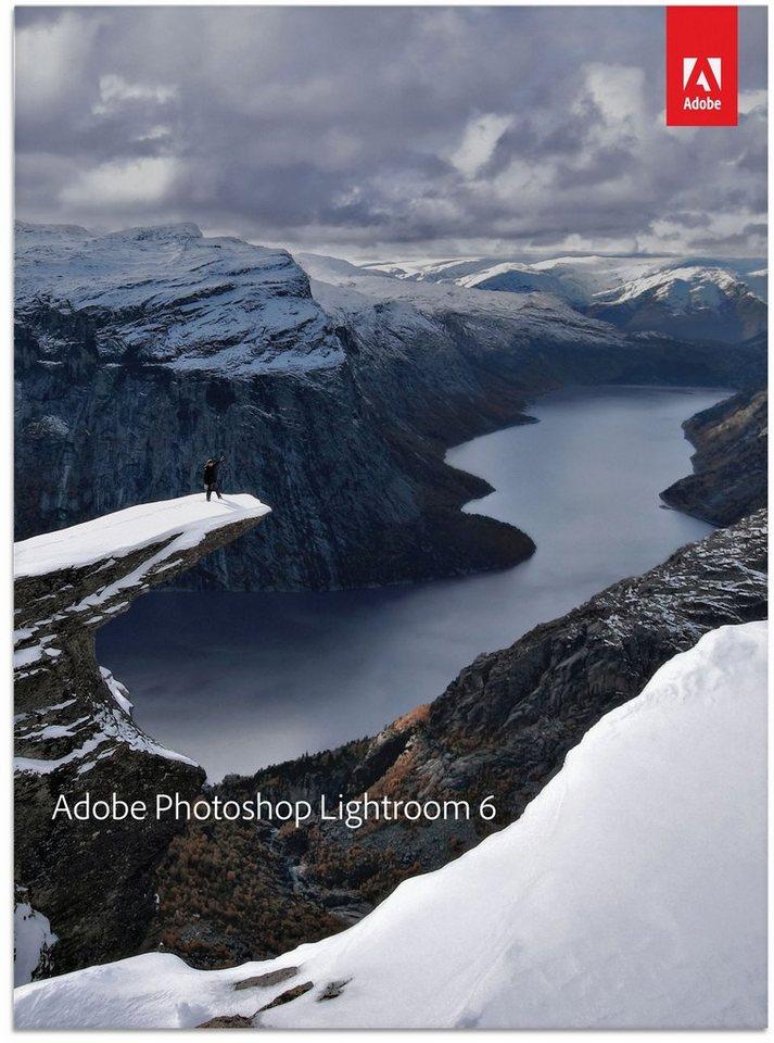 ADOBE Bildbearbeitung »Photoshop Lightroom 6 MLP (1 Benutzer)« in blau