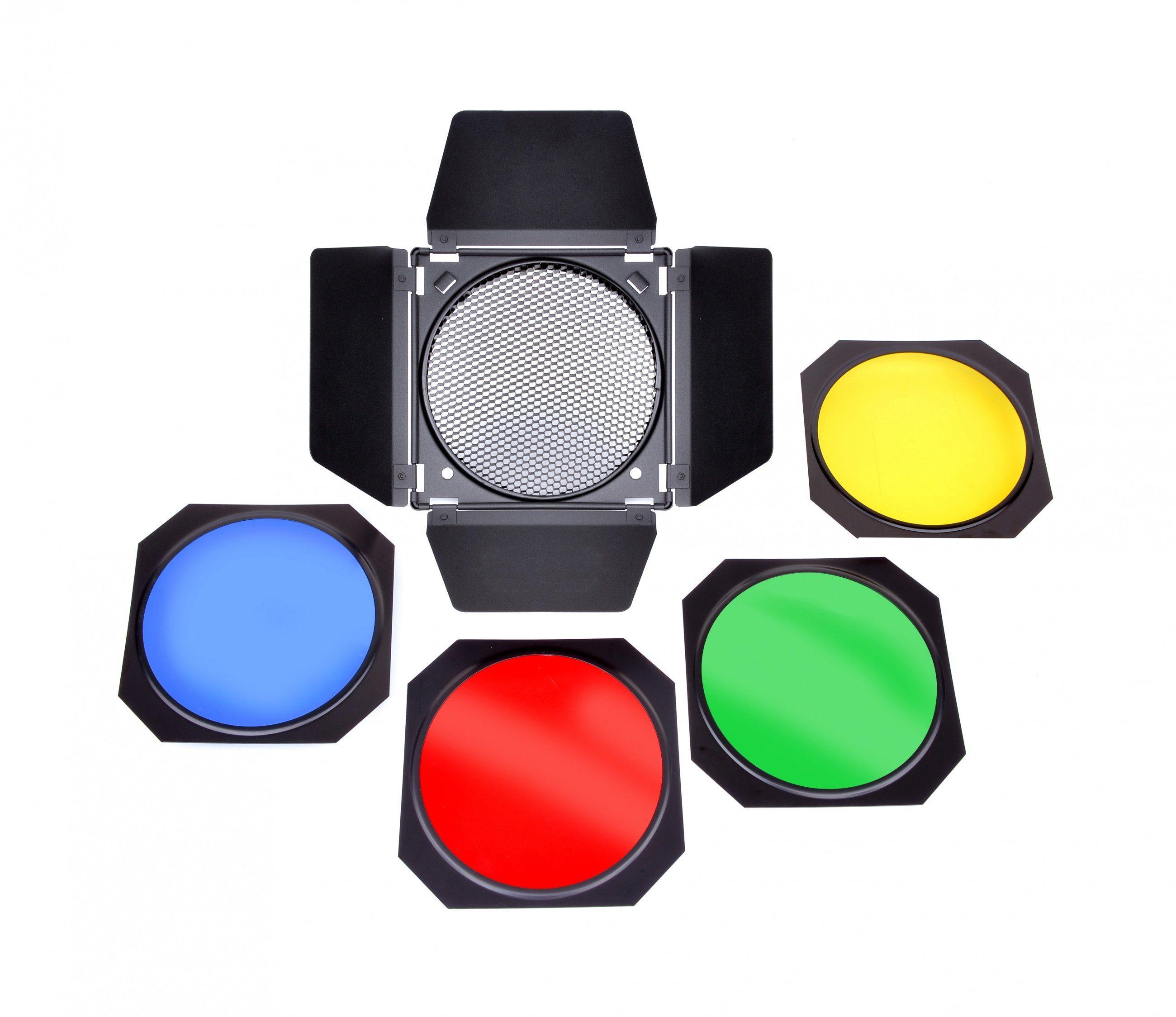 Bresser Fotostudio »BRESSER M-35 Abschirmklappen-Set für Reflektoren«