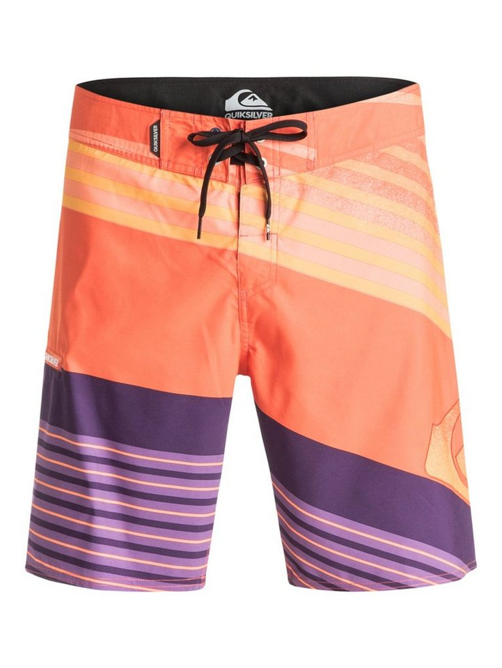Quiksilver Boardshort »Incline Logo 19« in shocking orange