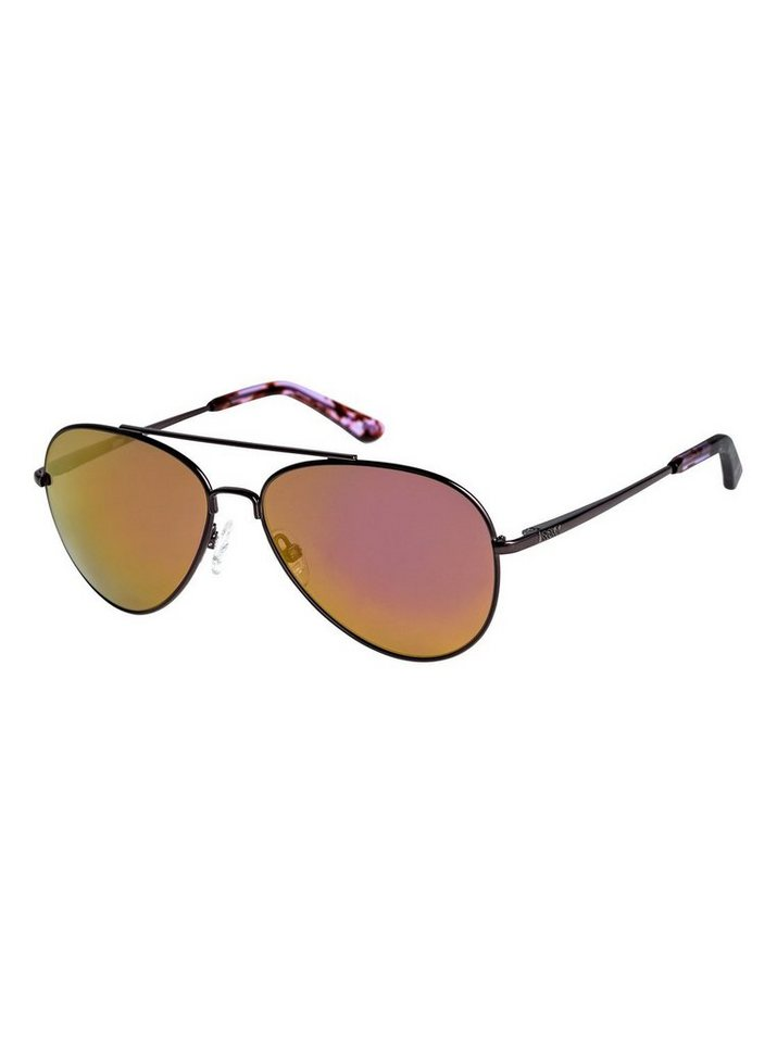 Roxy Sonnenbrille »Judy« in Shiny dark gun/flash pink