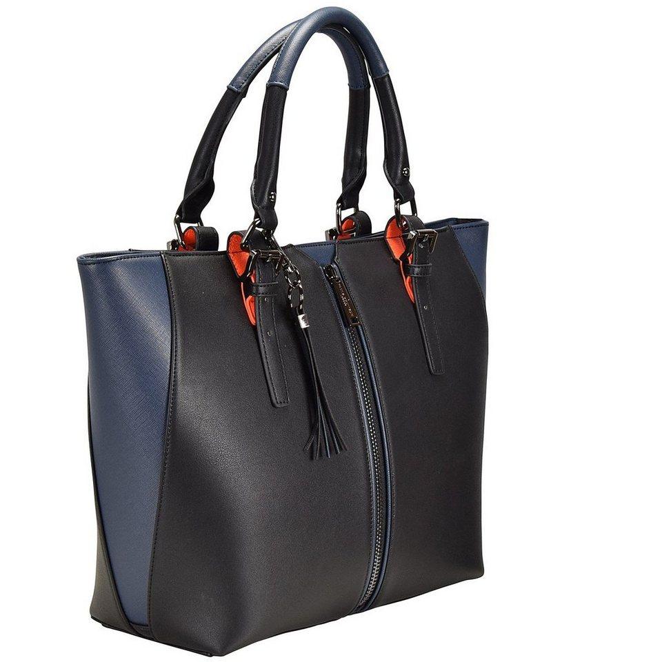 Paul's Boutique Conner Shopper Tasche 14 cm in black/navy