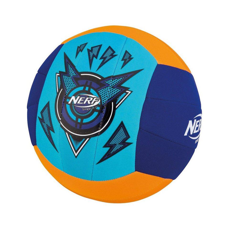 Happy People NERF Neopren Volleyball, Größe 4 in gelb