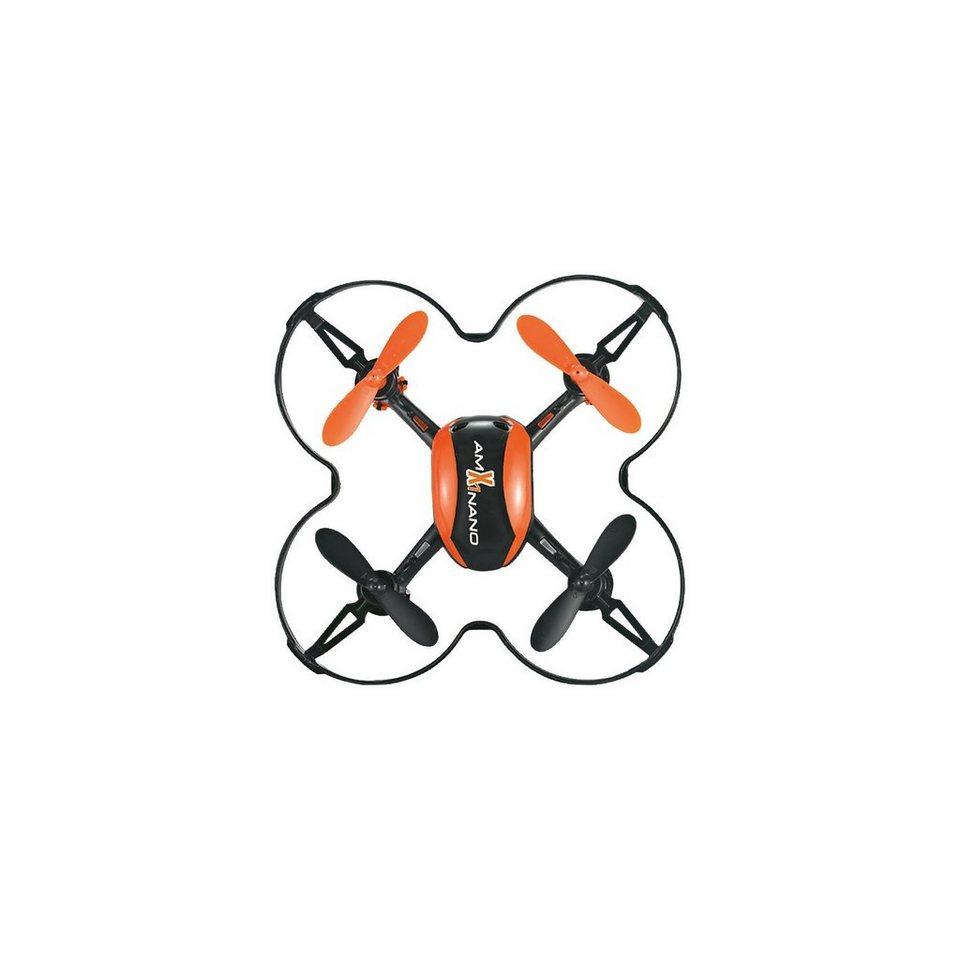 Amewi RC Quadrocopter Micro UFO AM X1 Nano 2.4 GHz, inkl. 2 Akkus
