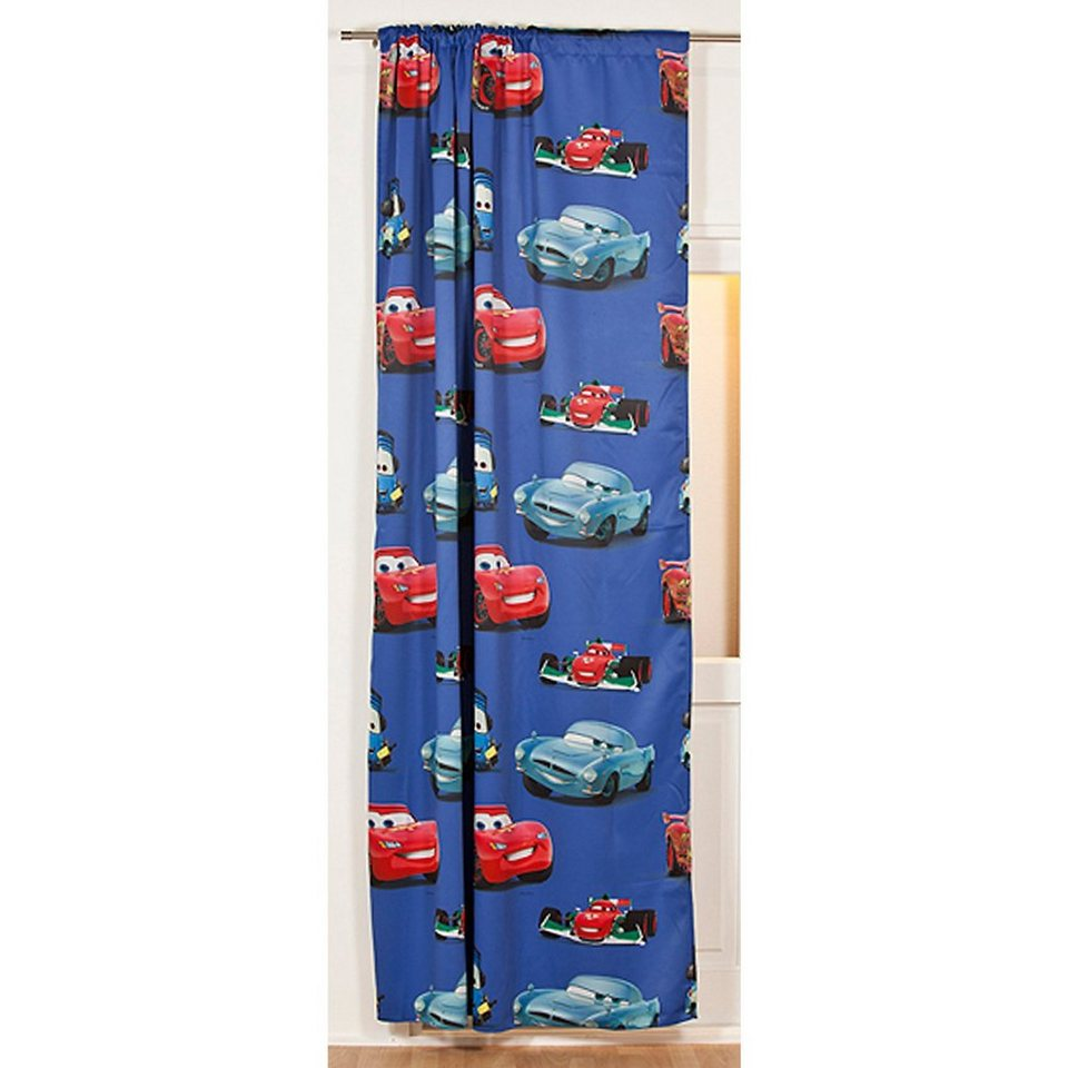vorhang blickdicht disney cars 140 x 250 cm otto. Black Bedroom Furniture Sets. Home Design Ideas