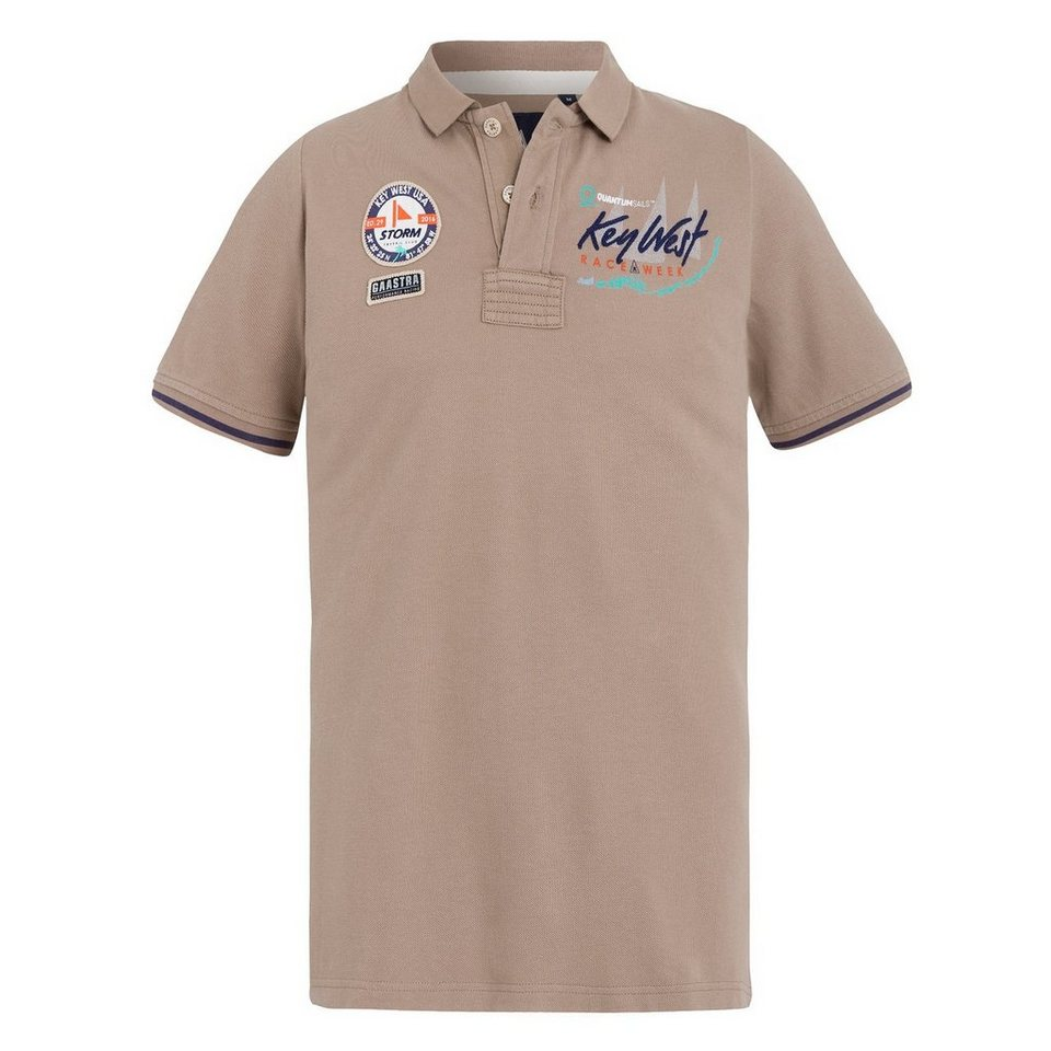 Gaastra Poloshirt in taupe