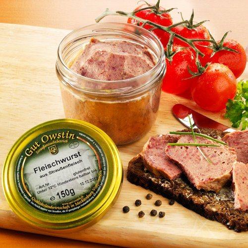 Gut Owstin Straußen-Fleischwurst (Packung, 2tlg.)