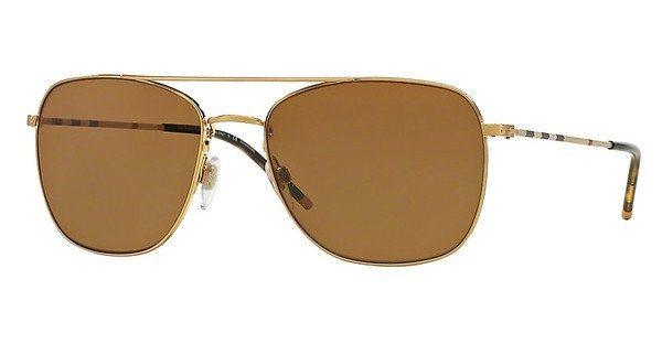 Burberry Herren Sonnenbrille » BE3079« in 105283 - gold/braun