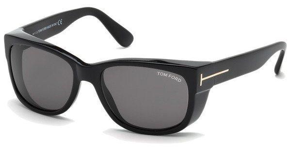Tom Ford Herren Sonnenbrille » FT0441« in 01A - schwarz/grau