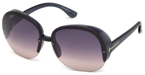 Tom Ford Damen Sonnenbrille » FT0458« in 20B - grau/grau